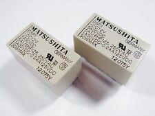 20 x Relais 12V 1xEIN 1xAUS 250V 5A 30V 5A MATSUSHITA DSP1-DC12V Gold#20R38#