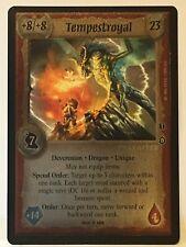 Warlord: Saga of the Storm CCG Dragon's Fury FOIL Rare SET   !dt