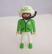 PLAYMOBIL (Y3213) HOPITAL - Homme Docteur de l'Hélicoptère de Secours 3845