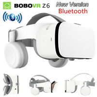 Bluetooth 3D Virtual Reality Glasses Google VR Headset For iPhone Samsung Phone