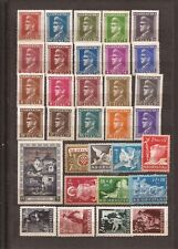 CROATIA (PRE-YUGOSLAVIA)-A few unused stamps for fill ins