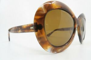 Vintage 60s sunglasses lunette elegante mod VEGAS brown glass lens France