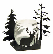 Buck Deer Votive Candle Holder