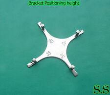 3 Bracket positioning Gauge Surgical Dental Instruments