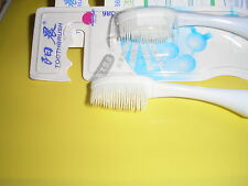 RECEDING GUMS- PURE NATURAL FINE RUBBER TOOTHBRUSH FOR HEALTHY GUMS/SHINY TEETH
