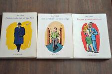 lot 3 livres BD de Marc Villard chez Atalante : J'aurais voulu / latin lover...