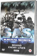 SAS Survival Secrets Behind Enemy Lines DVD New
