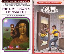 Lot of 57 Choose Your Own Adventure Series Books # 1-60 (3 missing)