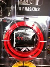 "RIMSKINS-4X RED 20"" DUABLE PROTECTION FOR YOU RIMS-MAGS COVERS WHEEL DAMAGE"