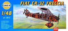 Fiat CR 32 Freccia (español & Regia Aeronautica/italiano af marcas) 1/48 Smer