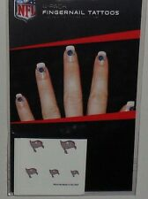 NFL TEMPA BAY BUCCANEERS TEMPORARY FINGERNAIL TATTOOS FAST FREE SHIPPING