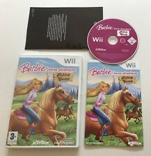 Barbie Horse Adventures Riding Camp Nintendo Wii Complete PAL