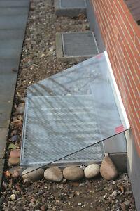 ACO Lichtschachtabdeckung aus ESG Glas 400 x 1250 Neuware
