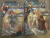 THUNDERCATS LION-O & Mumm-ra 2011 6 INCH Thunder Links New In Package Unopened