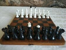 Old Vintage Chess USSR. Soviet Russia. Bakelite 1962s