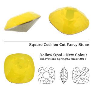 Genuine SWAROVSKI 4470 Square Cushion Cut Stones Crystals * Many Colors & Sizes