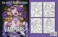 Vampires The Adult Coloring Book Paperback Color Relax Art Fantasy Book Grown-Up
