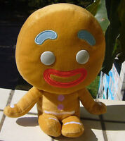 Shrek and Friends Gingy Gingerbread man stuffed 25cm Plush doll toy