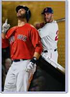 J.D. Martinez 2019 Topps Gold Label Class One 5x7 Gold #11 /10 Red Sox