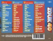 CD NEUF scellé- ZOUK 40° / Edition Digipack 4 CD - 60 Titres - CD Z