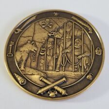 Disney Disneyland Pirates Of The Caribbean Calif Corrections Challenge Coin.