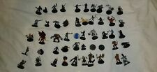 50 Dungeons And Dragons Miniatures: No Duplicates: Old Sets