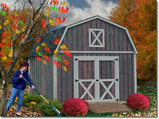 Best Barns 12' x 20' Denver Wood Shed Kit