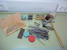 Gran colección herramienta Relojero, swiss made