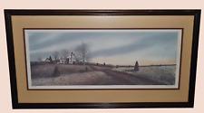 Original Landscape Print Artist Hand Signed & Numbered 40/800 Pro. Framed Matted