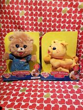 Teddy Ruxpin In Pjs & Grubby Sing A Long Lullaby Set New 2018