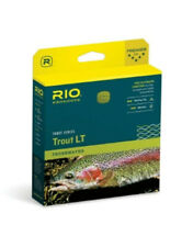 NEW RIO TROUT LT WF-2-F #2 WEIGHT FORWARD FLOATING FLY LINE IN BEIGE/SAGE COLOR