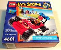 LEGO 4601 Jack Stone Fire Cruiser (Brand New & Sealed)