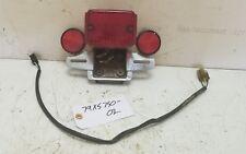 1979 Yamaha XS750 tail brake light assembly