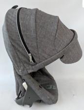 Stokke scoot stroller SEAT ONLY black melange