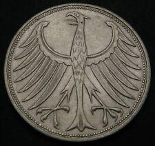 GERMANY (Federal Republic) 5 Mark 1971 F - Silver - aUNC - 606