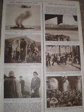 Photo article France comunists and facists fight Paris 1936 ref AZ