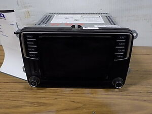 16 2016 Volkswagen Tiguan Jetta Passat CD Player Radio OEM