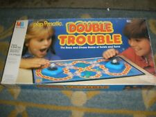MILTON BRADLEY POP O MATIC DOUBLE TROUBLE GAME 100% COMPLETE 1987