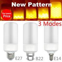 Feu Brûlant Flamme Ampoule E27 E14 B22 Flamme LED Lampe Feu Effet Décoratif