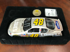 2004 Jimmie Johnson Lowes RARE PEARL Finish Team Caliber Owners Series car