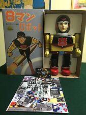 8 MAN EIGHTMAN 50th ANNIVERSARY YONEZAWA ROBOT TIN TOY NOMURA YOSHIYA HORIKAWA