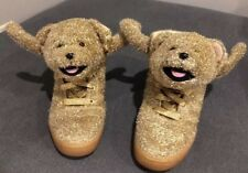 Adidas Jeremy Scott Gold Christmas Tinsel Teddy Bear d4156b068