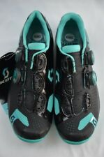 Scott MTB RC Lady 38 Black Aqua Blue Women's Bike Footware Size 6.5 Never Used