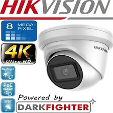 HIKVISION 8MP DARKFIGHTER 4K  IP POE CCTV DOME TURRET CAMERAUHD HD 2.8MM OUTDOOR