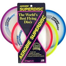 Aerobie Super disc Frisbee Disc Assorted Colours Outdoor Games