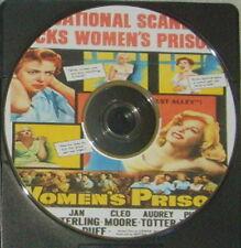 FILM NOIR 102: WOMEN'S PRISON (1955) Lewis Seiler, Lupino, Sterling, Totter