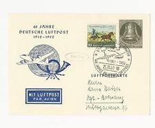 Ungeprüfte Briefmarken aus der BRD (ab 1948) mit Mischfrankatur für Post, Kommunikation