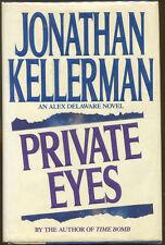 Private Eyes: An Alex Delaware Novel by Jonathan Kellerman-First Edition/DJ-1992
