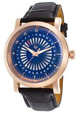 Lucien Piccard Ruleta Date Indicator Mens Watch LP-40014-RG-03
