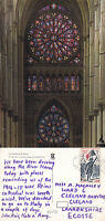 1980's REIMS CATHEDRAL REIMS FRANCE COLOUR POSTCARD